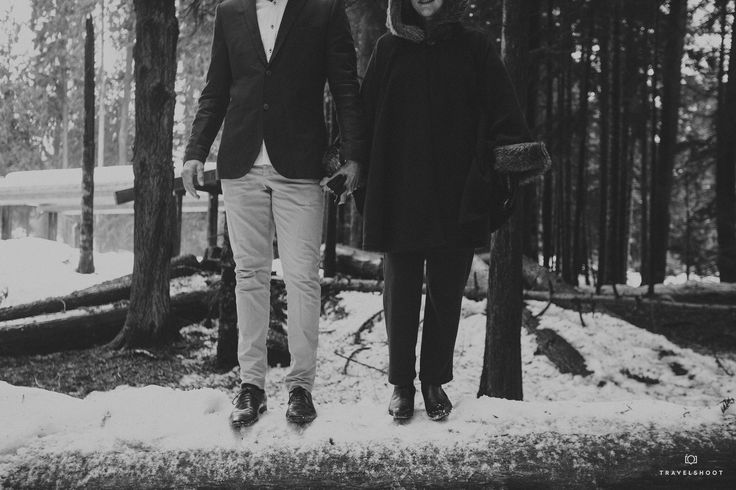 "It was a midday trek through the thick snow in Whistler that provided the memorable backdrop for this winter Travelshoot. ""arty and edgy"" was nailed by this local photographer - all in the heart of the woods and snow..."