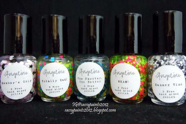 """Sassy Paints: """"I Love The 80's"""" Collection Review"""