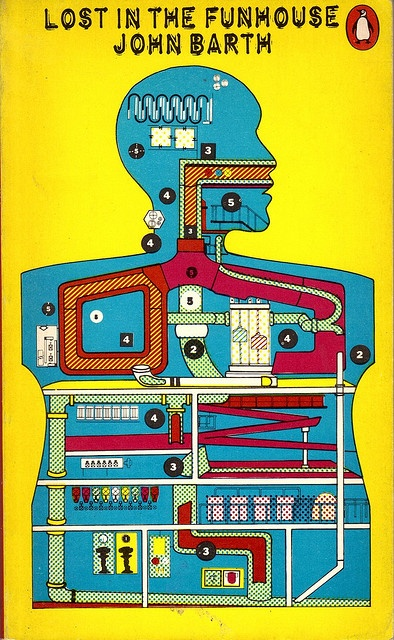 Penguin First edition published in 1972.  Cover by Eduardo Paolozzi.
