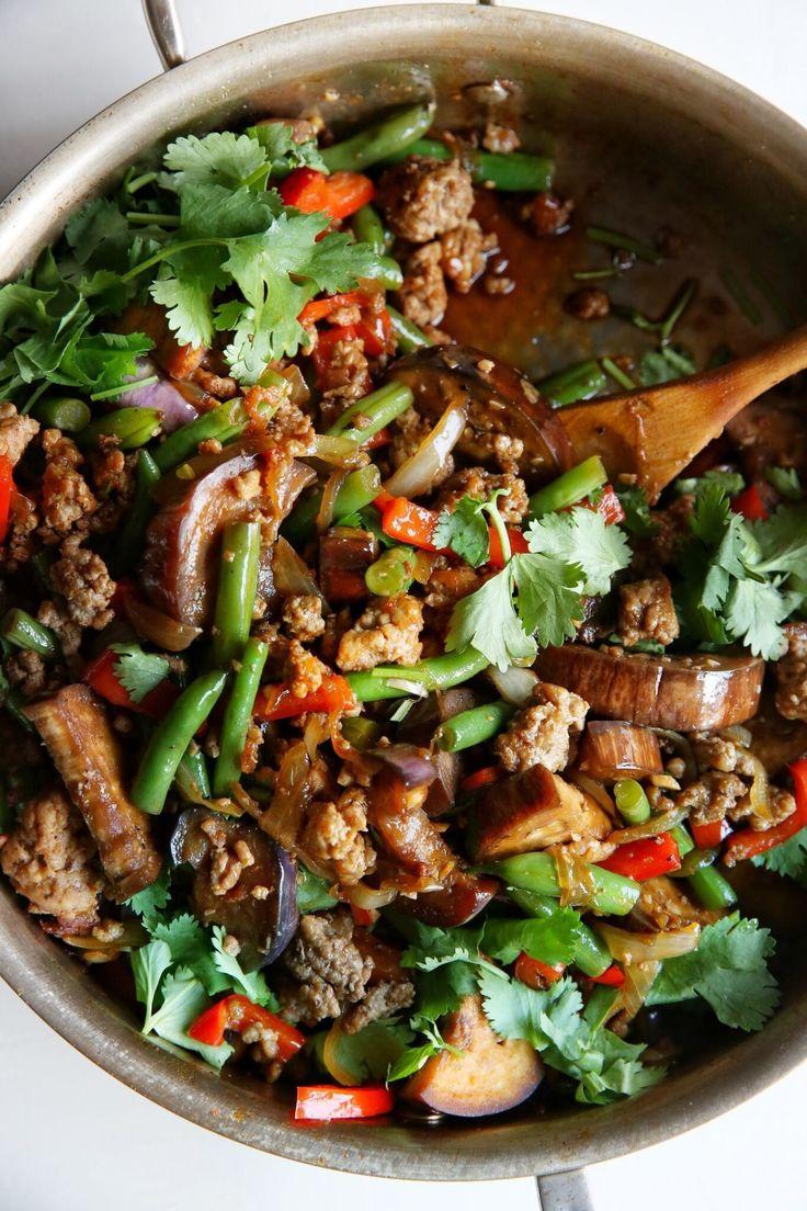 Garlic Sriracha Pork Stir Fry.  Also, for some photo tips and tricks, go to http://robflorexplore.com