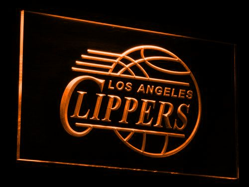 Los Angeles Clippers LED Neon Sign - Legacy Edition