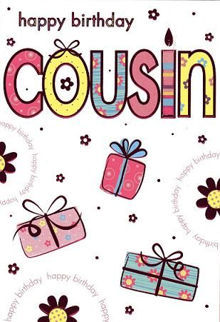 Cousin | Cousin Birthday Card
