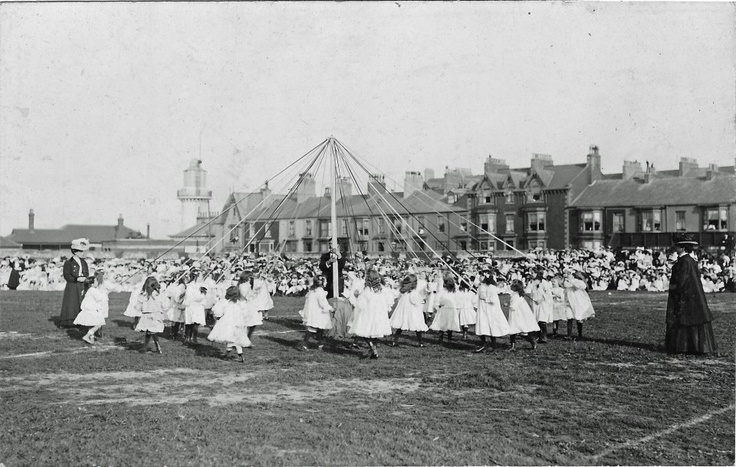 Mayday town moor Old Hartlepool pre 1904