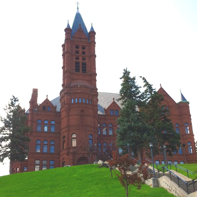 Crouse school for women at Syracuse University