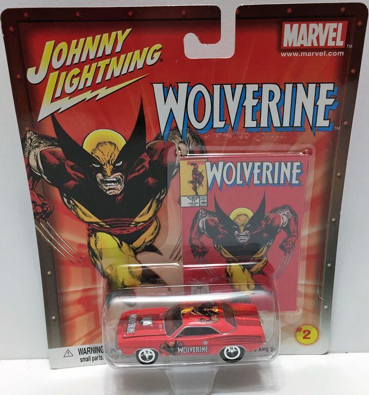 (TAS033473) - 2002 Johnny Lightning Marvel Wolverine Die-Cast #2 '70 Hemi Cuda