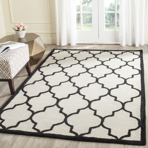 Found it at Wayfair.co.uk - Dalton Ivory/Black Area Rug