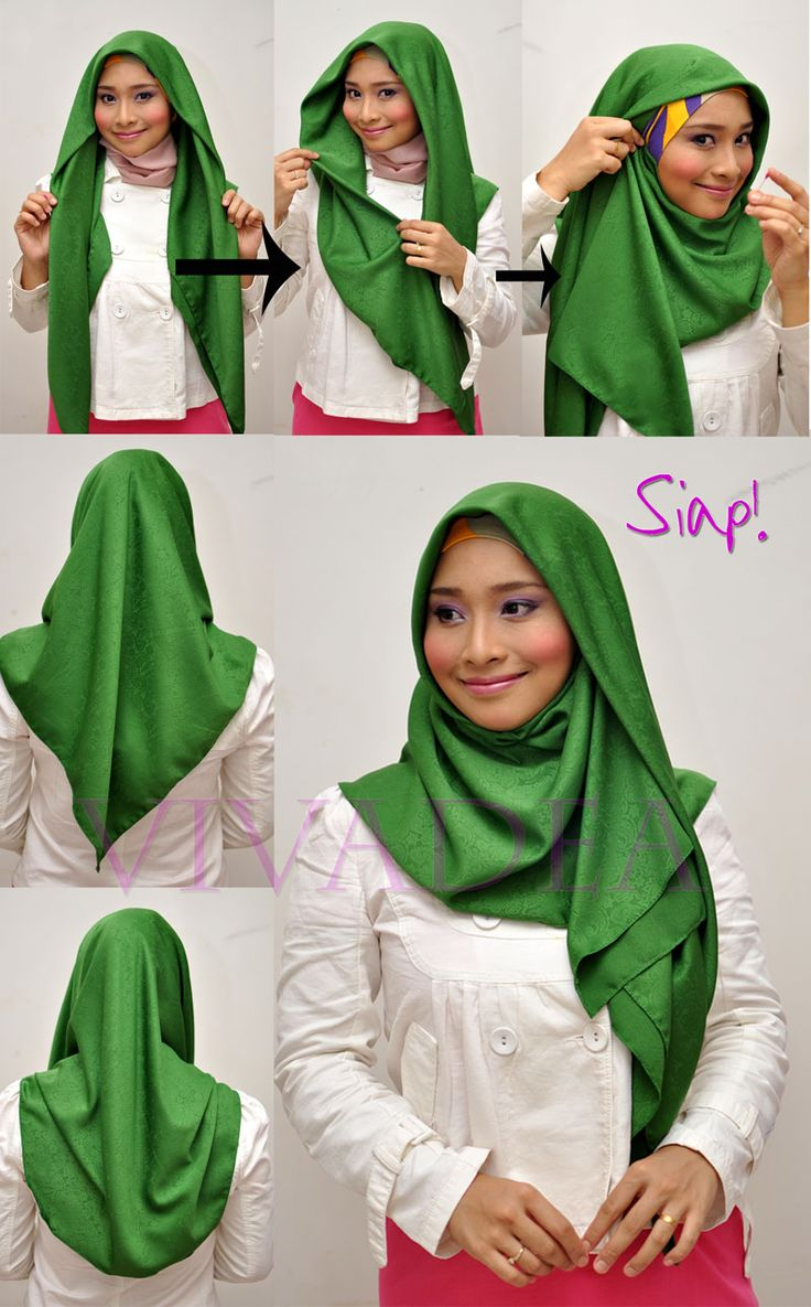 17 Best Images About Tutorial Hijab Modern On Pinterest Hijab
