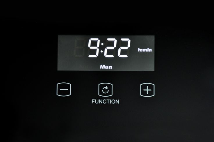 Fully programmable clock and timer, Large, crystal white LED display  #Belling #UKmade #madeinBritian #British #cooker