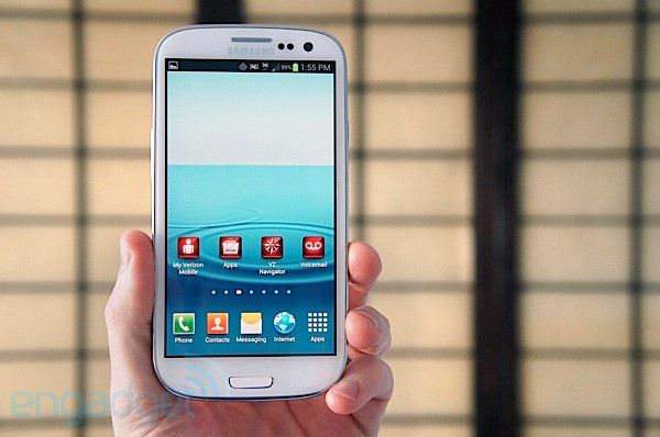 Verizon pushing Jelly Bean update to Samsung Galaxy S III tomorrow