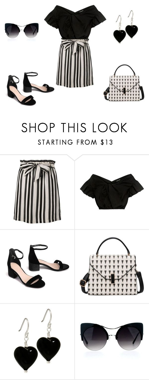 """look juego de damas"" by aliciagorostiza ❤ liked on Polyvore featuring Topshop and Rachel Comey"