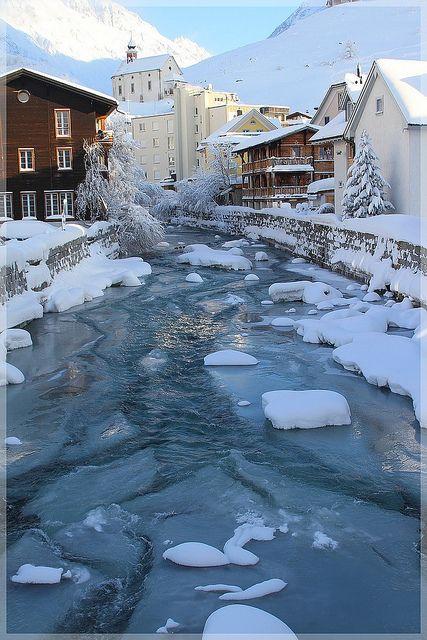 Winters Morning ~ Andermatt, Switzerland