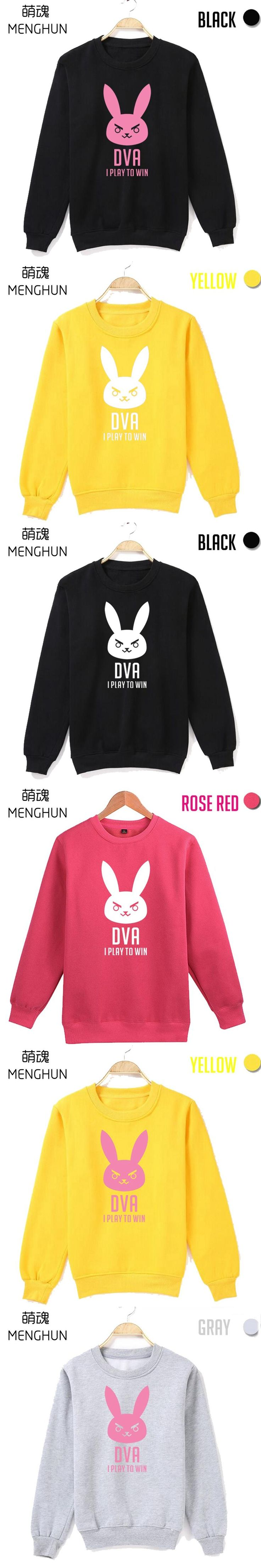 DVA Song Hana I play to win round collar new design printing rose pink hoodies gift for girl friend ac510