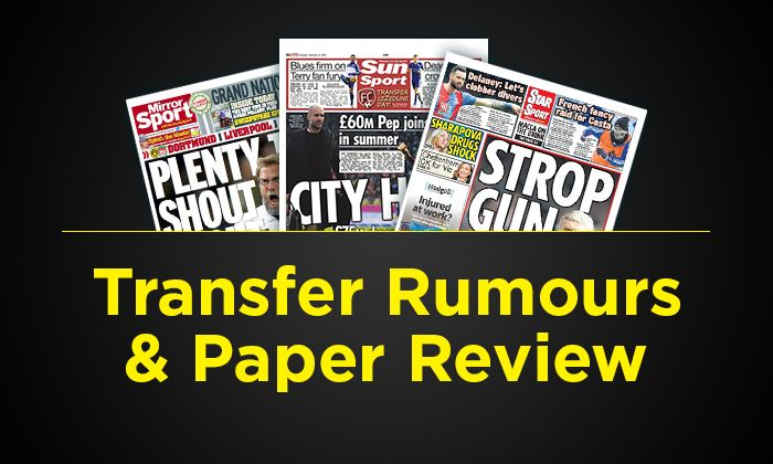#rumors  Transfer rumours and paper review - Friday, August 18: Manchester City to bid £22m for Evans, Everton eye Costa loan deal and more…
