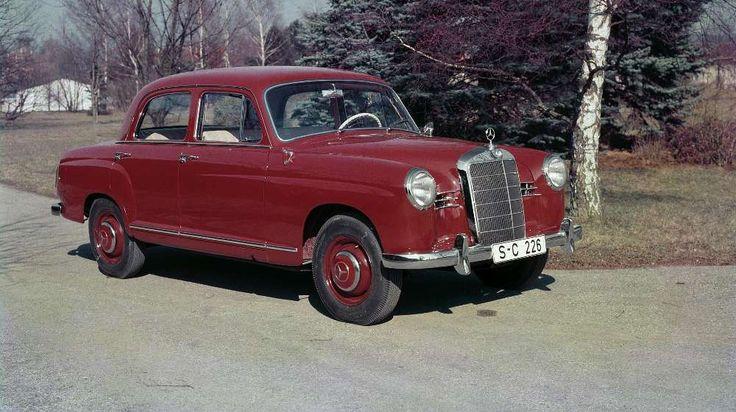 """Automobile Klassiker wie der berühmte """"Ponton-Mercedes"""" Typ 190 konnten zuletzt im Wert deutlich zulegen. Doch nicht jeder Oldtimer taugt als Wertanlage. (Quelle: Daimler AG)"""