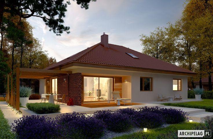 Projekty domów ARCHIPELAG - Astrid (mała) G1