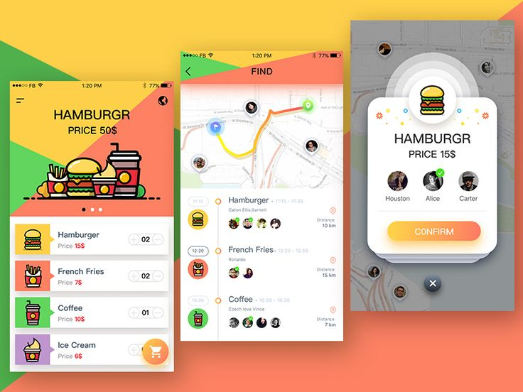 Mcdonald S Ordering App by ruki #Design Popular #Dribbble #shots