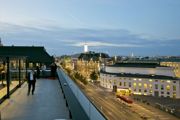 Klaus K Hotel Helsinki - Terrace