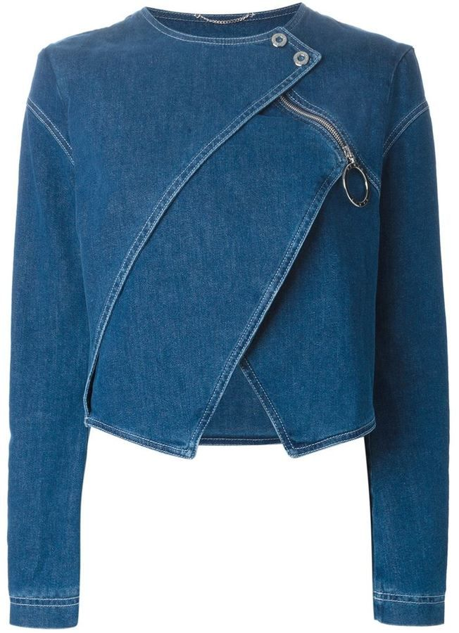Kenzo layered denim jacket