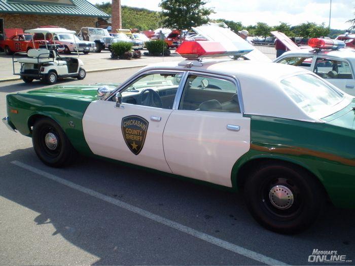 "Chickasaw County Sheriffs car ""Duke's of Hazzard"""