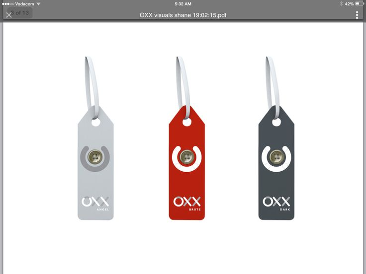 OXX Swing Tags