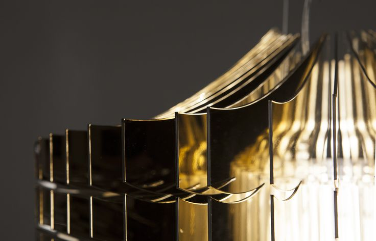 Aria Gold, by Zaha Hadid - www.slamp.com