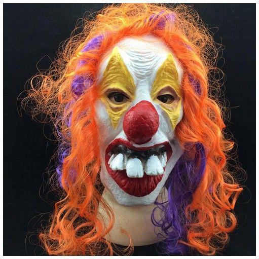 New Arrival 2016 Hot style Halloween clown mask terrorist scary Halloween Clown grimace face mask full Face latex Clown mask  http://playertronics.com/products/new-arrival-2016-hot-style-halloween-clown-mask-terrorist-scary-halloween-clown-grimace-face-mask-full-face-latex-clown-mask/