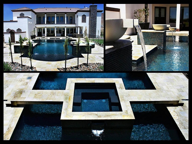 17 best images about outdoor residential pools on - Public indoor swimming pools el paso tx ...
