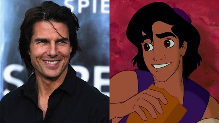 What Makes Tom Cruise Irresistible? | The likeness of Aladdin is based on Tom…