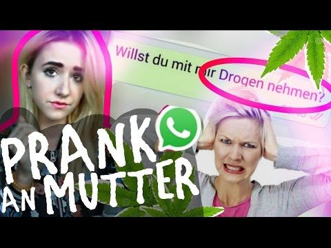 "WHATSAPP SONGTEXT PRANK an MUTTER mit ""WILLST DU"" - ALLIGATOAH - YouTube"