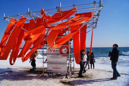 #winterstations at #thebeaches in #Toronto. Running until March 20, 2015!: http://www.thepurplescarf.ca/2015/03/culture-exhibit-beaches-winter-stations.html #culture #art #thepurplescarf #melanieps