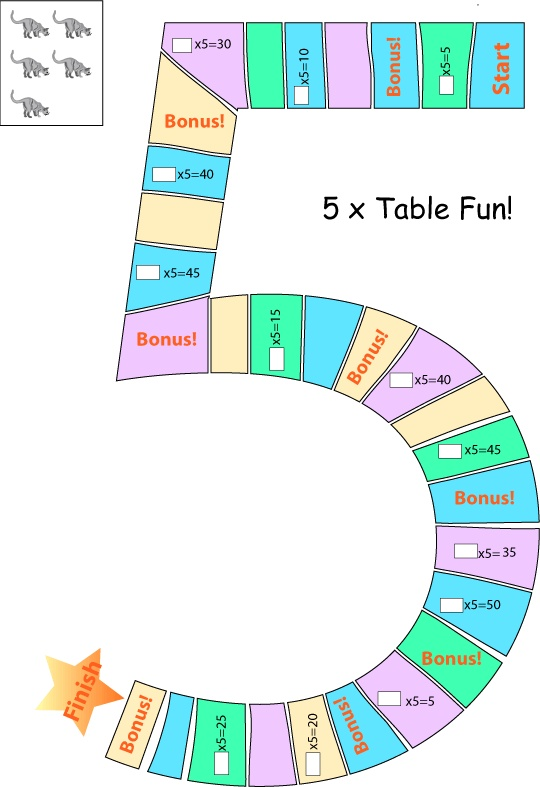 Number Names Worksheets five times table : 1000+ images about Maths - Timestables on Pinterest