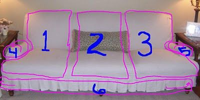 How to make a couch slipcover: Bibbidi Bobbidi, Couch Slipcovers, Diy Tutorial, Sofas Slipcovers, Couch Covers, Slipcovers Sofas, Bobbidi Beautiful, White Couch, Chairs Covers
