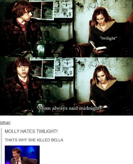 The reason Mrs. Weasley really killed Bellatrix