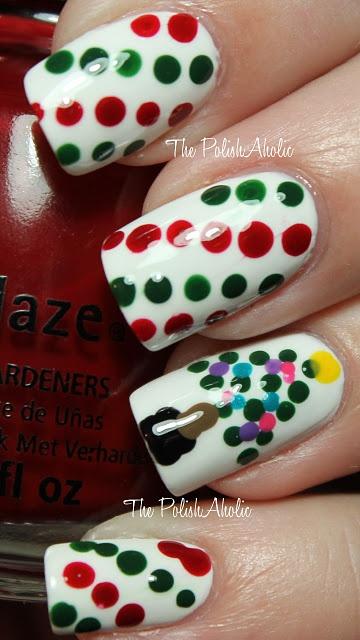 Creative!Nails Style, Nails Design, Christmas Dots, Christmas Nails Art, Nails Polish, Nails Art Design, Christmas Ideas, Merry Christmas, Art Nails