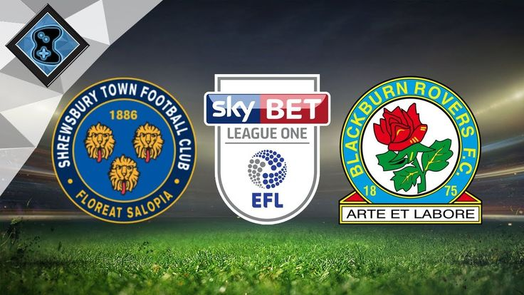 Blackburn Rovers vs Shrewsbury Town FC 23rd September https://youtu.be/J1O8XmhKQeU