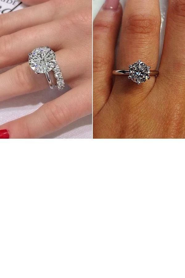 Wedding Ring Styles Wedding Rings Uk Diamond Ring With Diamonds Around It In 2020 Moissanite Wedding Ring Set Diamond Band Engagement Ring Wedding Ring Bands