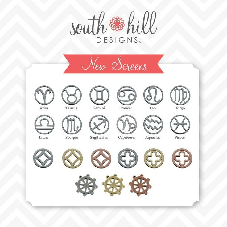 Screens...http://www.southhilldesigns.com/faithncharms