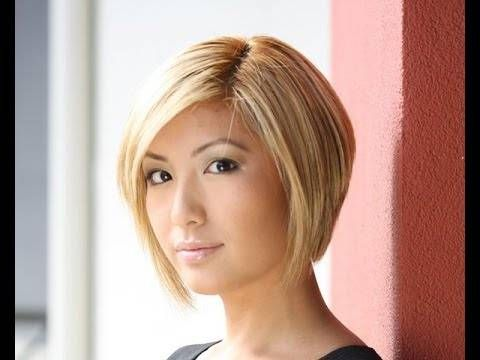 Hairstyles For Older Women With Thin Hair -4 Graduated Bob Haircut Back View