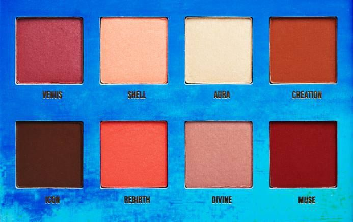 red nude natural eyeshadow palette by Lime Crime
