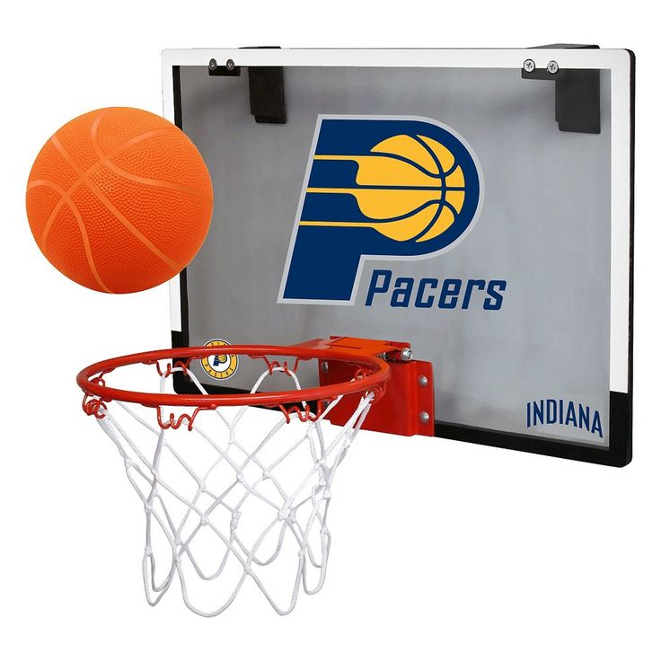 Indiana Pacers Rawlings Polycarbonate Over-The-Door Mini Hoop