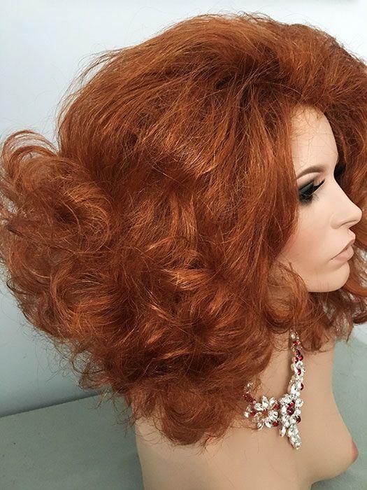 Drag, Queen, Wigs, Flip, Hair Spray, White Blonde< Fire Red