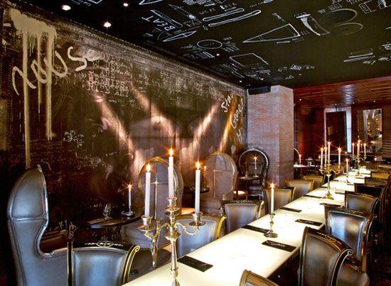 Ramses Decorado por Philippe Starck, un lugar inspirador e ideal para artistas y amantes del diseño. Este Bar-Restaurante me encanta!!!