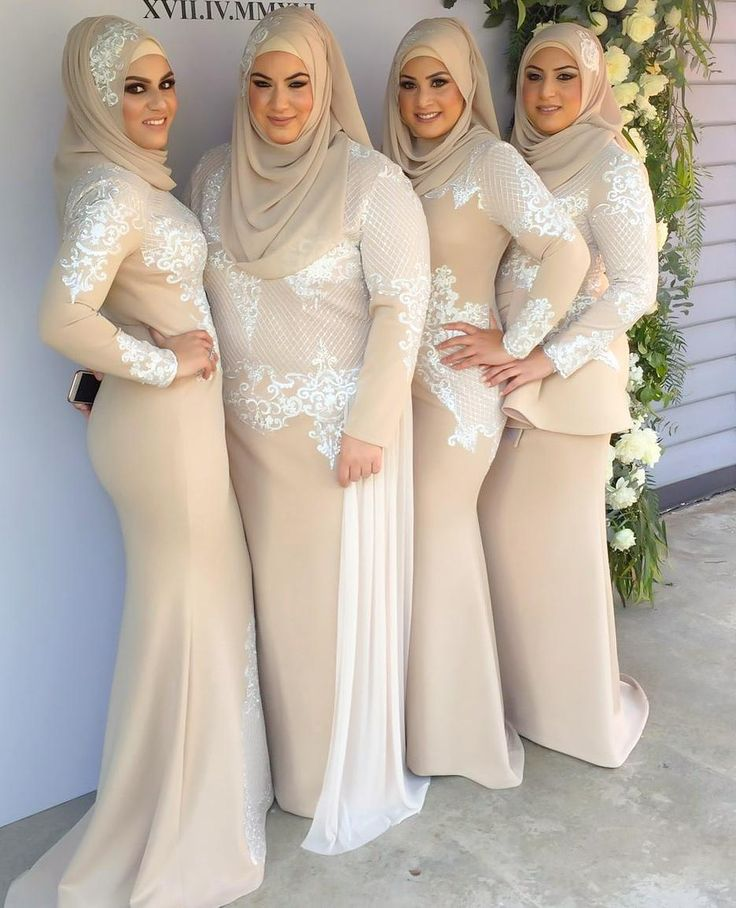 Reposting this photo of the beautiful sisters Safa Sarah Marwa and Jasmine in @ziancouture