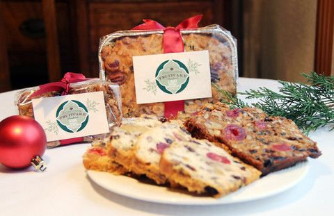 Our yummy holiday fruit cake makes a wonderful gift!