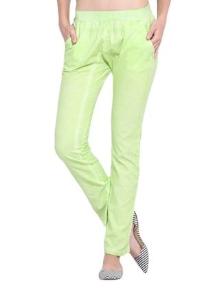 Check out what I found on the LimeRoad Shopping App! You'll love the Green Cotton Trouser. See it here http://www.limeroad.com/products/13005738?utm_source=10570b8bd1&utm_medium=android