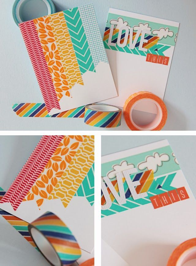 Washi Tape School / Escuela
