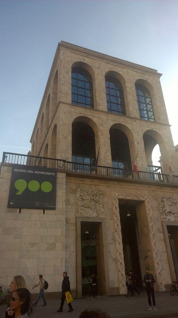 Museo del Novecento, piazza Duomo, Milano