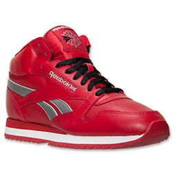 reebok classic shoes men red