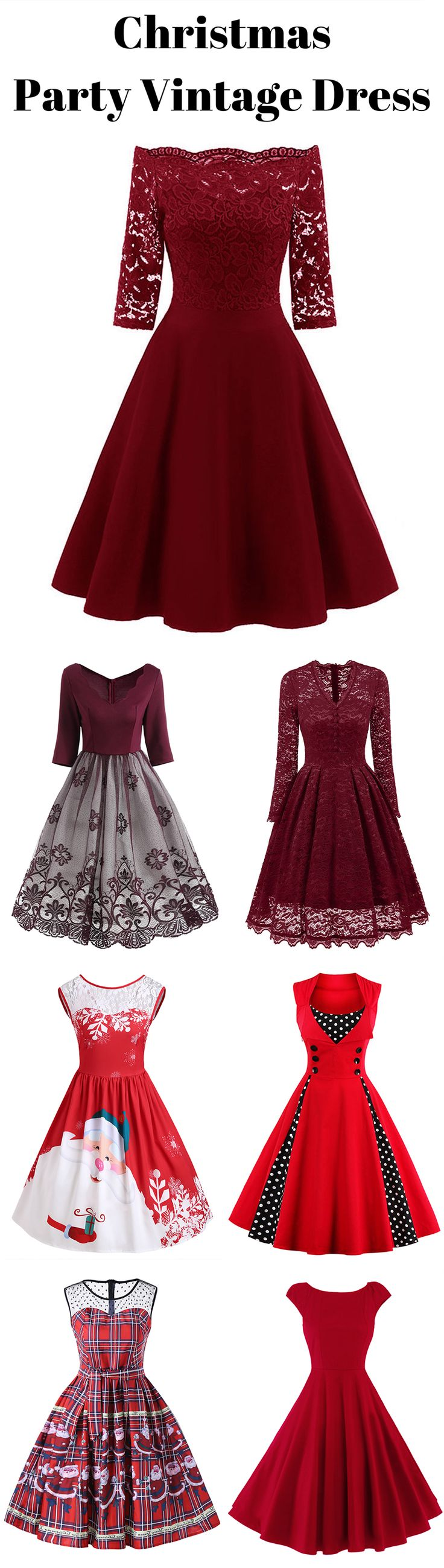 Stunning Christmas Party Vintage Dress   Up to 88% off   #Christmas #Vintagedress #PromDress #partydress