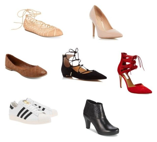 Shoes wishlist for spring by niki-1hourforme on Polyvore featuring Bar III, adidas Originals, Tamaris, Ivanka Trump, Dorothy Perkins, Steve Madden, Mossimo Supply Co., women's clothing, women's fashion and women